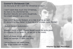 Connor's Christmas List by Hari